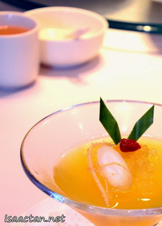 #6 Fresh Ginseng Pudding with Bird's Nest & Aloe Vera