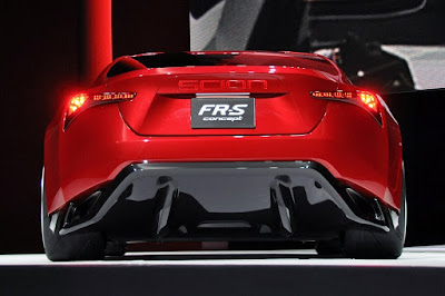 2016 Scion FR-S back view