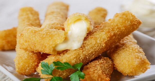 Faux Fried Cheese Sticks Recipe