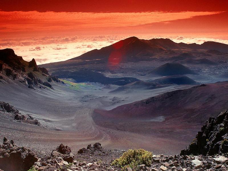 Haleakala National Park Hawaii