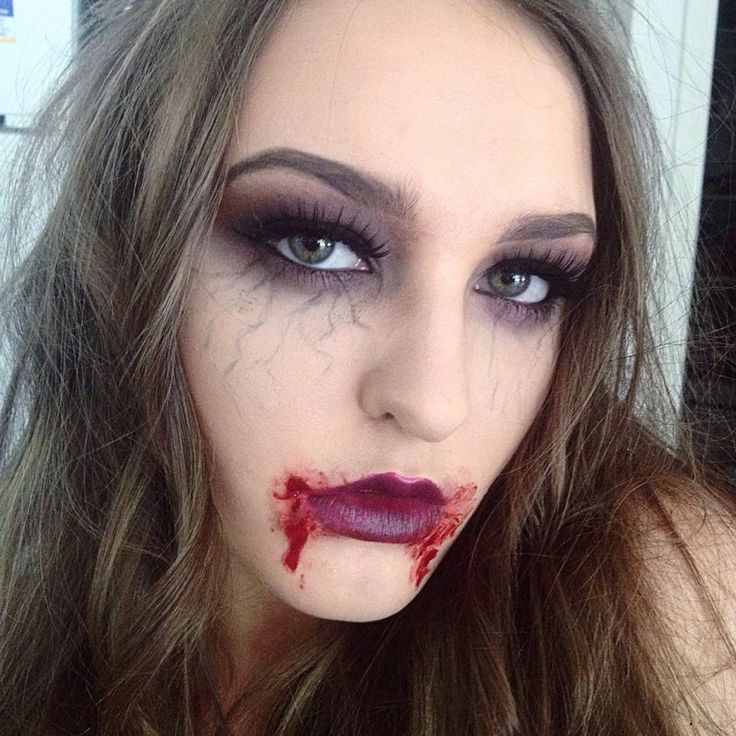 Happy Halloween Day: 22 Halloween Vampire Makeup Ideas