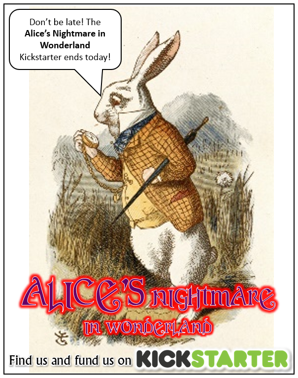 Jonathan Green Author Alices Nightmare In Wonderland Finishes On