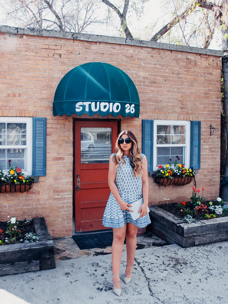 spring outfit, spring dress, madewell dress