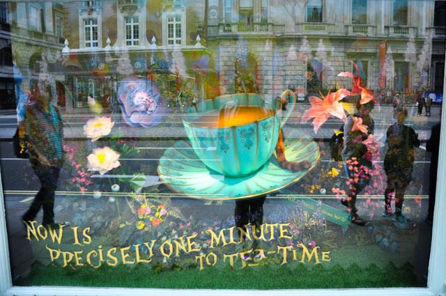 alice in wonderland tea shop london
