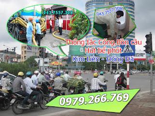 Thông tắc cống tại phường kim liên,thông tắc bồn cầu,chậu rửa,toilet hút bể phốt 043.7557.160
