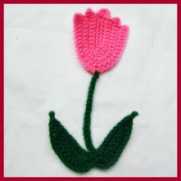 Aplique tulipán