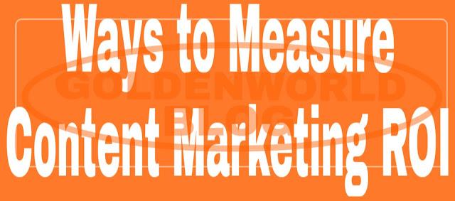 4 Easy Ways to Measure Content Marketing ROI