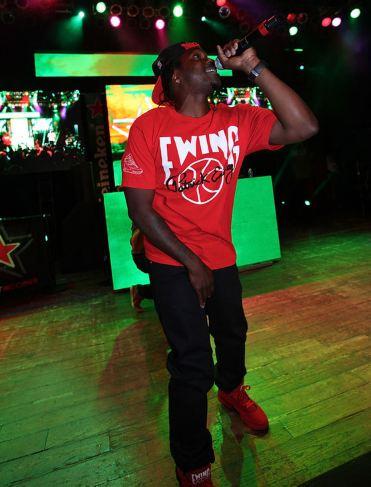 Celeb Sneaker Game  Pusha T Rock Ewing 33 Hi
