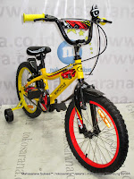 18 Inch Wimcycle Demon BMX Kids Bike
