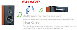 Speaker Aktif Sharp CBOX-MTB201