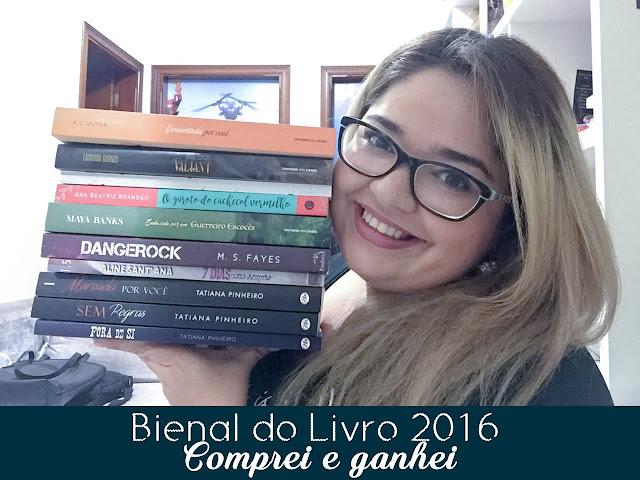 [Youtube] Bienal do livro 2016 | Comprei e ganhei