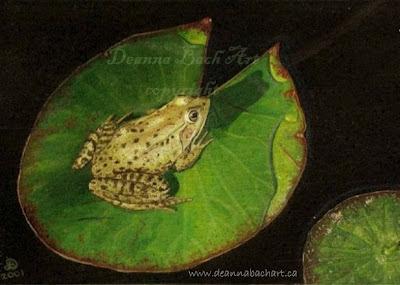 Frog by Deanna Bach-Talsma