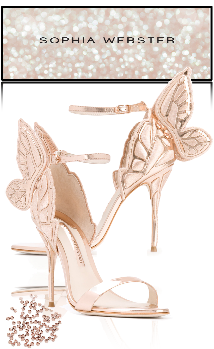 SOPHIA WEBSTER Butterfly Heel Sandals