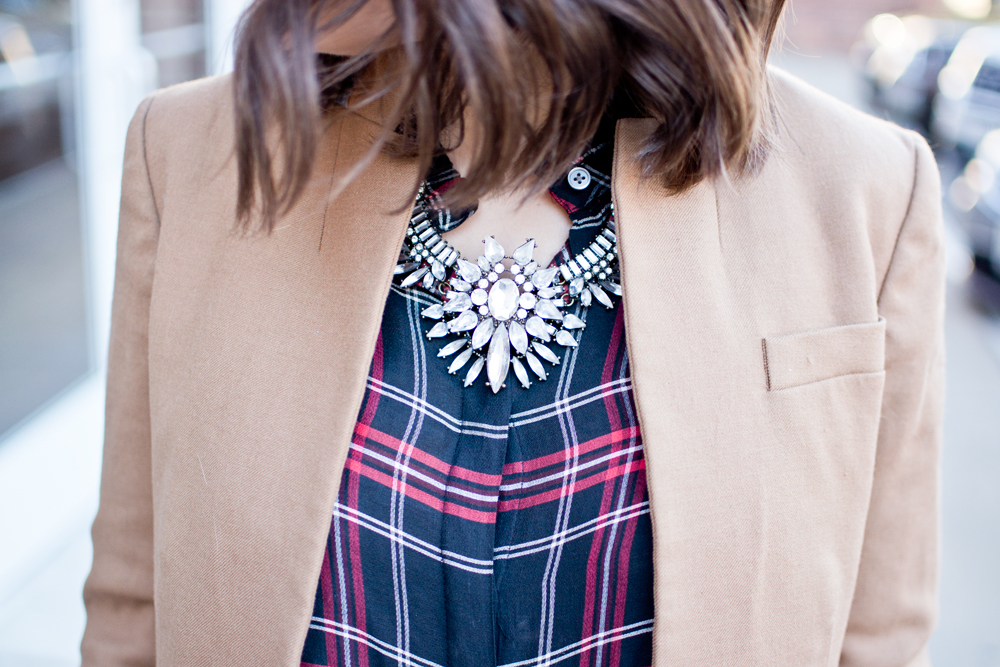 outfit of the day, fall office style, fall fashion, winter style, dressing for work, work outfit idea, how to style a blazer