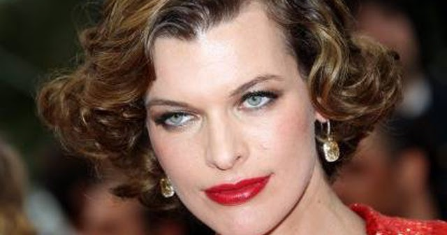 Hair Style 1940: The Hair Style File--Milla Jovovich Always Makes Waves