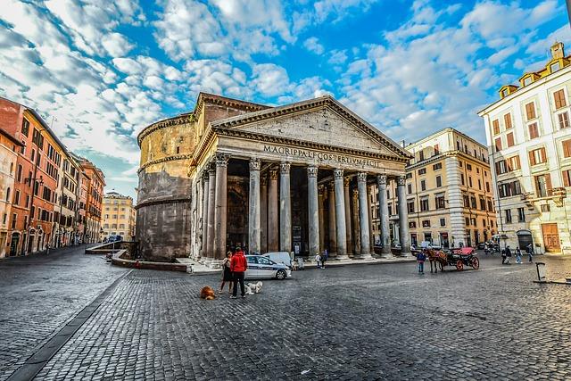 Panteón Agripa Arquitectura