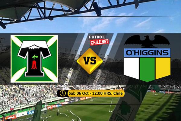 Mira Deportes Temuco vs O´Higgins en vivo y online por la Primera División