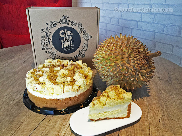 cat fiddle durian cheesecake malaysia