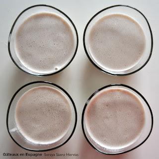 recette panna cotta lait noisettes