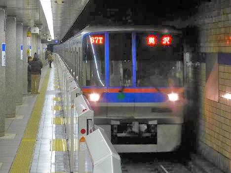 都営地下鉄三田線 東急目黒線直通 奥沢行き 6300形(元旦終夜運転)