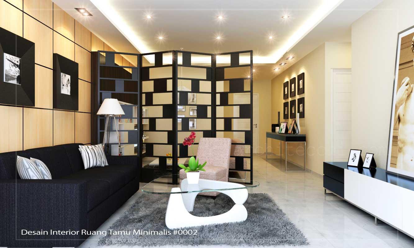 interior ruang tamu minimalis sederhana images