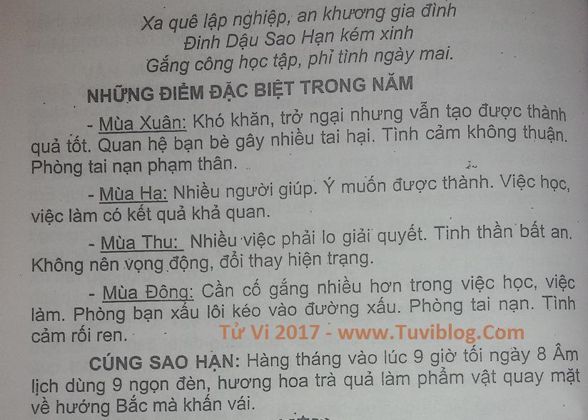 Xem tu vi Ky Mao nam 1999