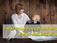 5 Hal Yang Perlu Diperhatikan Dalam Memilih Diaper