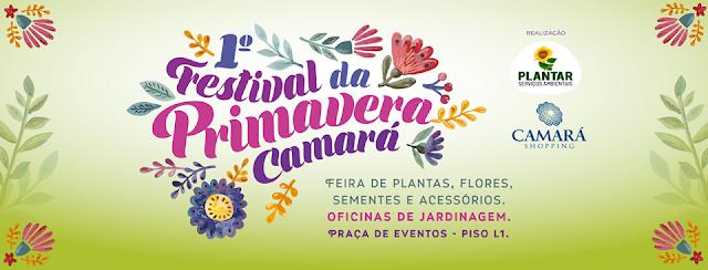 Camará Shopping realiza seu 1º Festival da Primavera