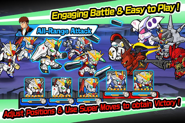 Line Gundam Wars Screenshot 02