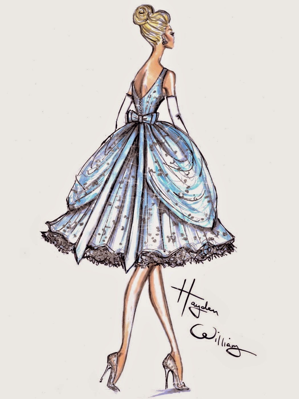 Dolly's Designs: Fashion Sketches From Hayden Williams