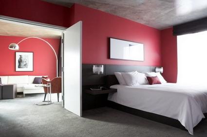 decora el hogar dormitorios modernos color rojo