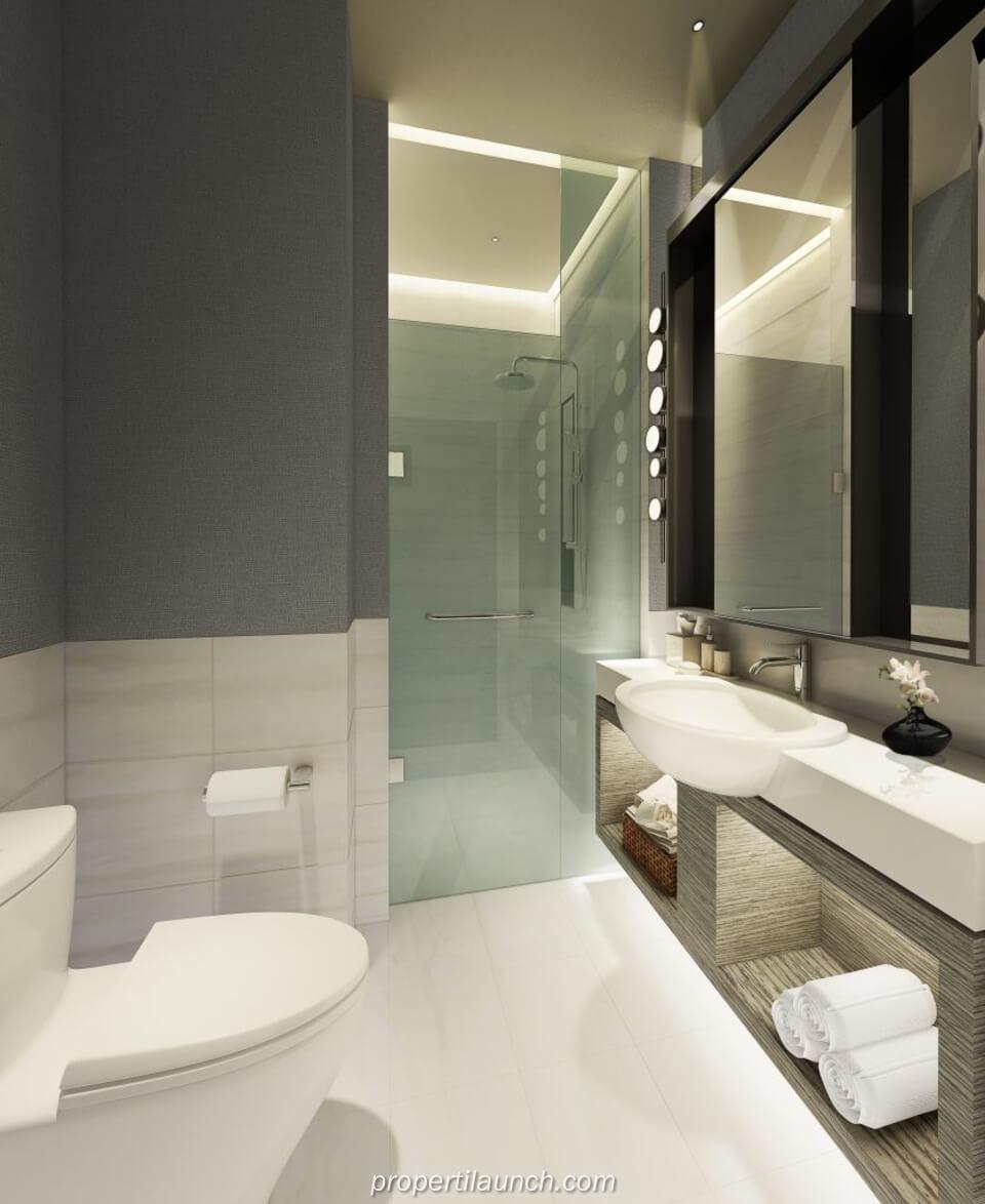 Bathroom Rumah Savasa Panasonic Kota Deltamas