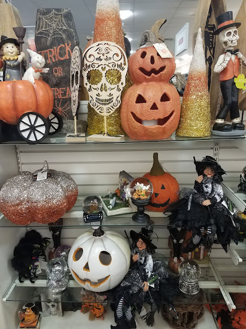 Halloween Was Starting To Fill The Shelves