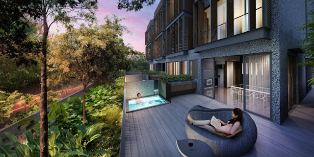 One Surin Balcony and Jacuzzi