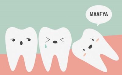 Pengalaman Gigi Bongsu Dibedah di Klinik Pergigian Kerajaan