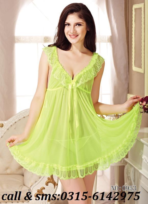 Beautiful Night Wear with Lace Design | Nighty for Girls | Nighty ...