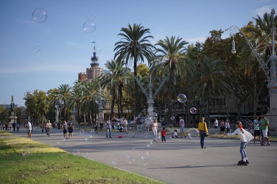 リュイス・クンパニィス通り(Passeig de Lluís Companys)
