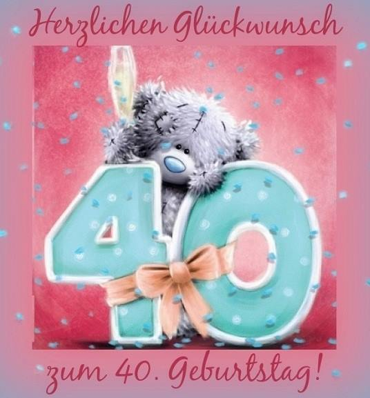 Wünsche Zum 40. Geburtstag