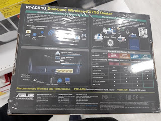 Asus RT-AC51U dual-band router specs