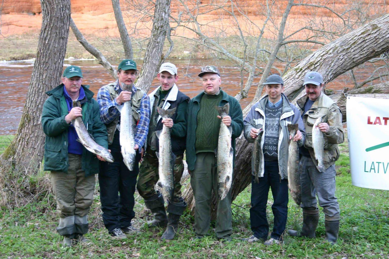 Ловля лосося в Литве. База