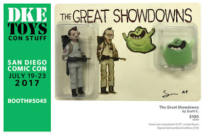 San Diego Comic-Con 2017 Exclusive The Great Showdowns Ghostbusters Resin Figure Set by Scott C x DKE Toys
