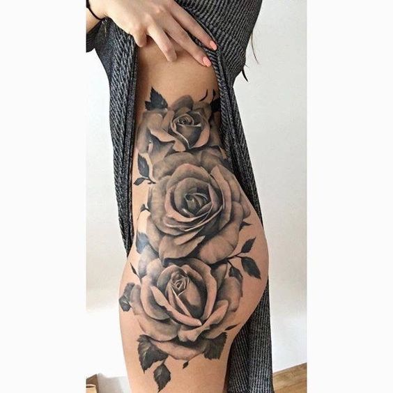 Sexiest Thigh Tattoos For Women
