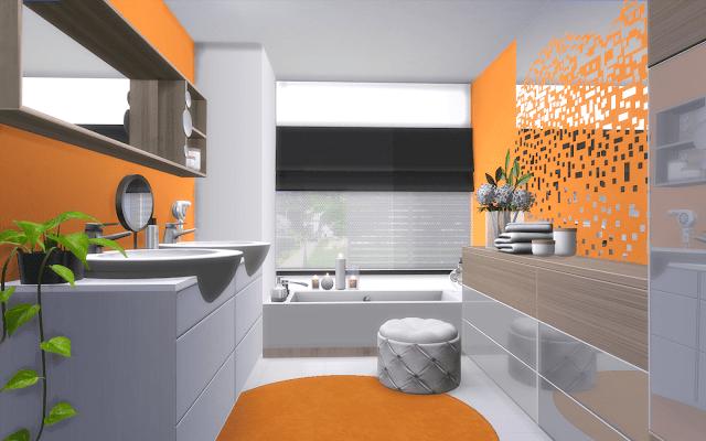 salle de bain sims 4 design