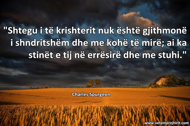 inkurajim i krishtere, spurgeon shqip, sperxhen,