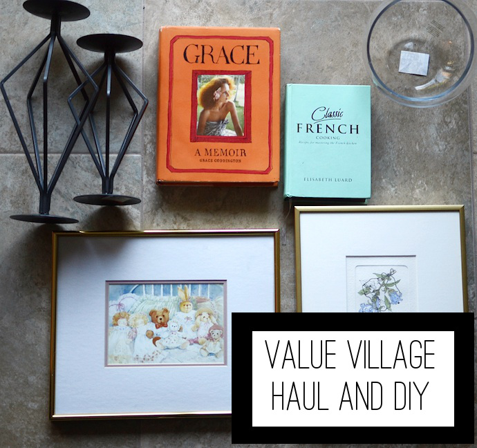 Value Village home decor DIY