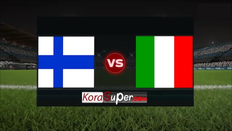 مشاهدة بث مباراة ايطاليا ضد فنلندا 08-09-2019