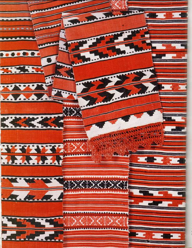 Traditional ritual towels from Belarus