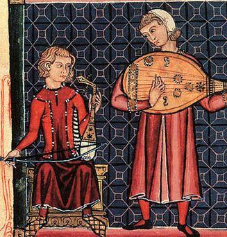 pemusik balad abad pertengahan