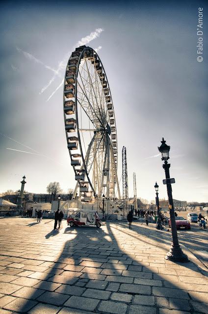 Ruota panoramica-Place de la Concorde-Parigi