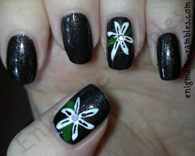 no.7-floral-freehand-nail-art-beautifully-black